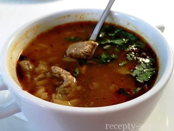 суп харчо из баранины рецепт приготовления в домашних условиях с фото