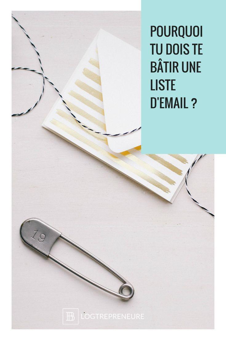 Si tu as un blog SANS infolettre, il est urgent d'y remédier dès maintenant. Laisse-moi t'expliquer pourquoi tu dois te bâtir une liste d'email au plus vite !