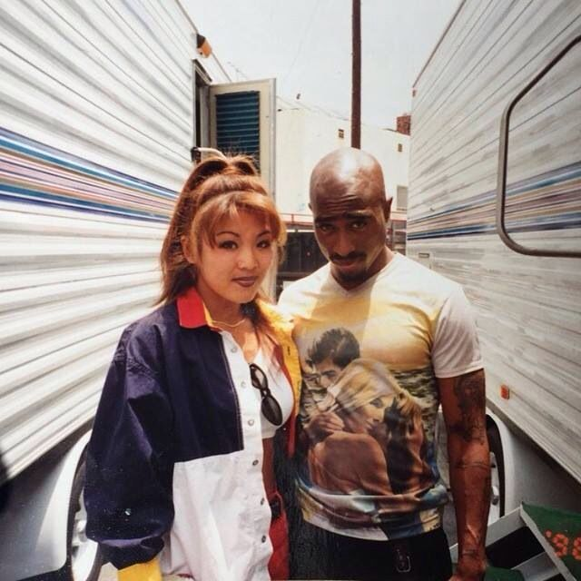 Tupac Shakur ...I love the random fan pics they shed more light into his life than the classic posed pics