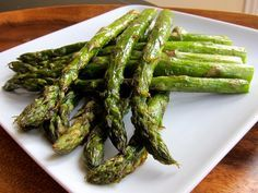 How to roast asparagus in the oven, fast and easy recipe with delicious results. Best way to prepare asparagus. Kosher, Vegan, Gluten Free.