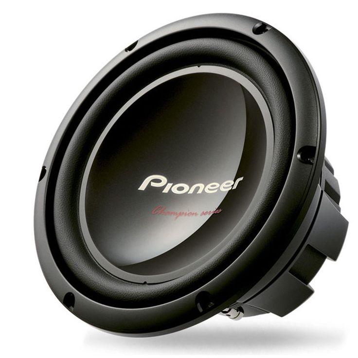Pioneer TS-W309D4 Champion Series 12-Inch Dual 4-Ohm 1,400-Watt Subwoofer
