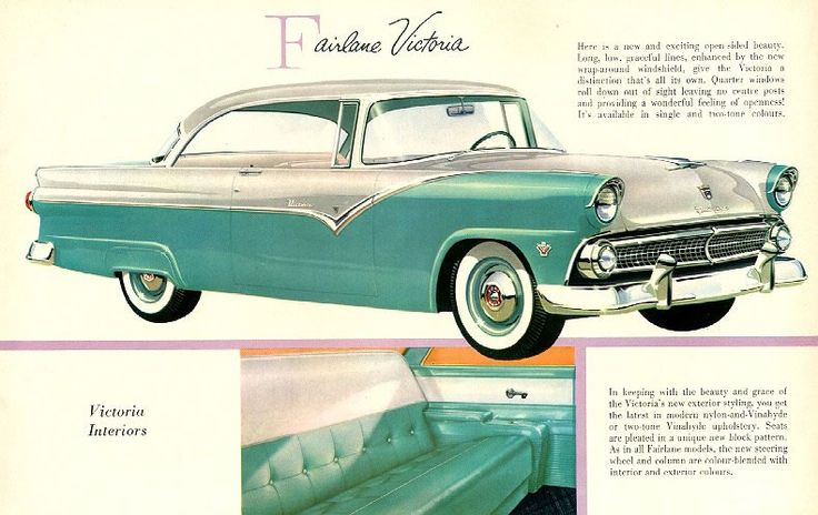 Ford brochure, 1955 Retronaut | Retronaut - See the past like you wouldn't believe.