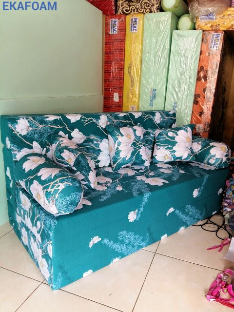 SOFA BED INOAC  TERBARU SEPTEMBER 2016 MOTIF IJO TOSKA