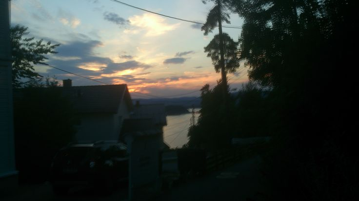 Sunset at 22:00
