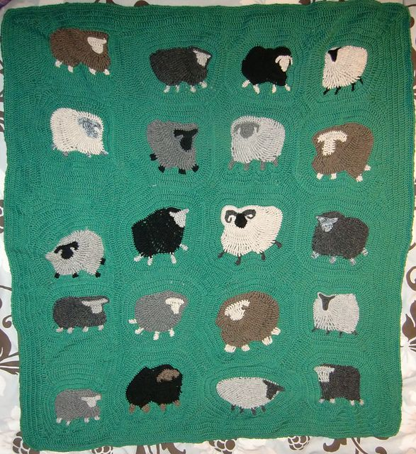 Ravelry: Project Gallery for Freeform Crochet Blanket pattern by Kirsti Hallamaa
