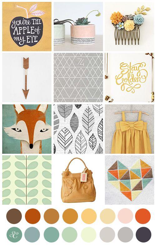 Midwestern Girl: Walden...the Studio Calico November Kits...my sneaks