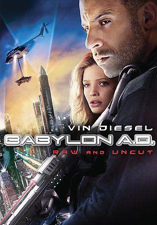 Vin Diesel, Michelle Khan Babylon A.D. Raw and Uncut DVD Movie 2009