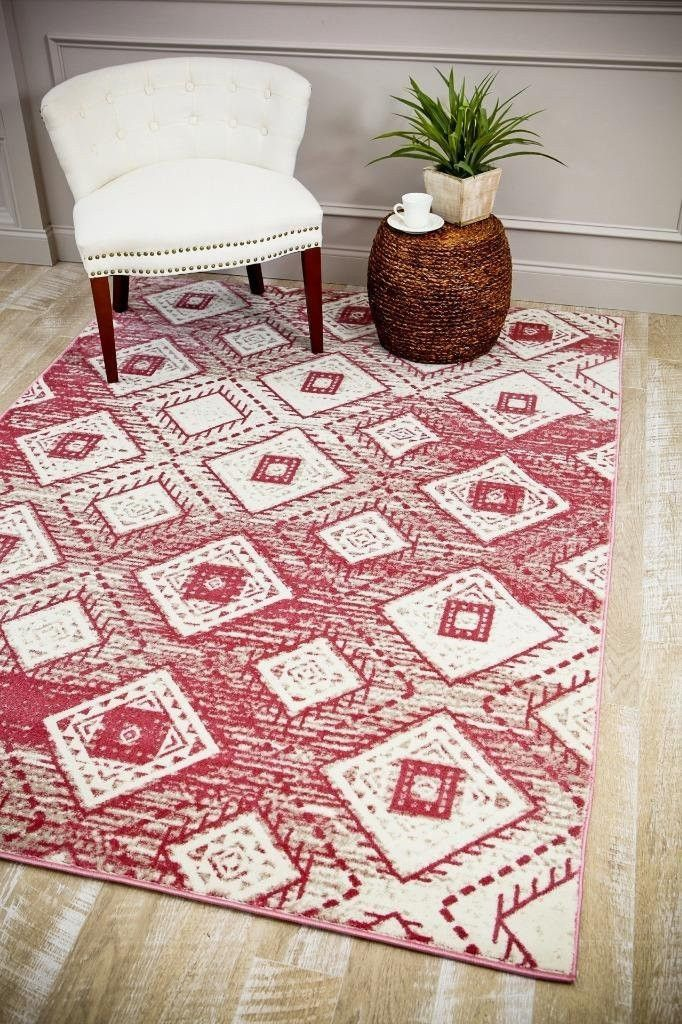 pink aztec area rugs