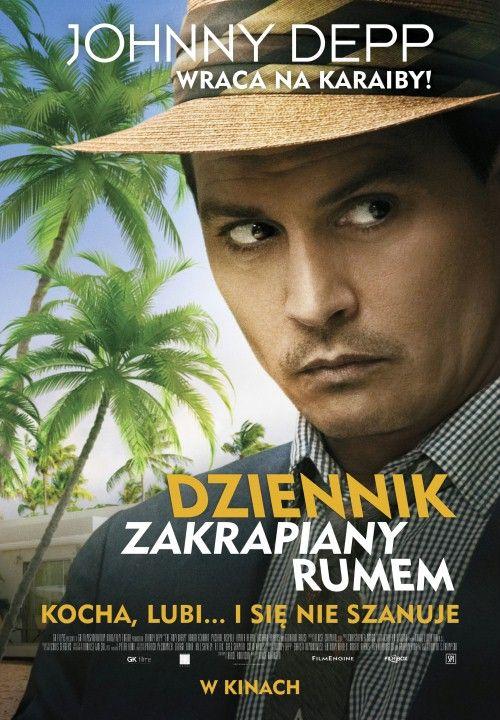 Dziennik zakrapiany rumem, 2011 plakat