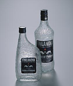 finlandia : vodka-bottles - tapio wirkkala