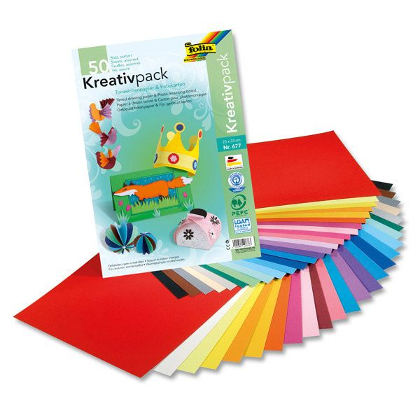 Barevné papíry vyšší gramáže / barevné čtvrtky  http://activacek.cz/produkt/barevne-papiry-folia-2796/