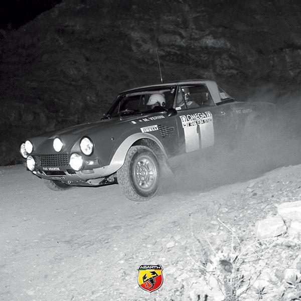 #Abarth124Spider podczas legendarnego Rajdu Elba w 1970 roku. #TBT