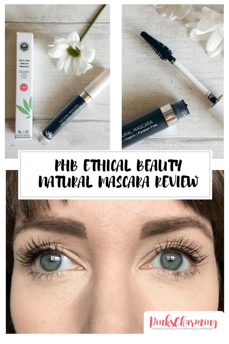 The Perfect Natural Mascara? PHB Ethical Beauty Mascara Review