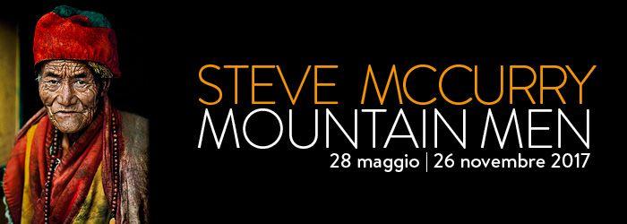 Un inedito progetto espositivo firmato da uno dei più grandi maestri della fotografia contemporanea internazionale. Steve McCurry. Mountain Men è il titolo della coproduzione Forte di Bard, Steve McCu