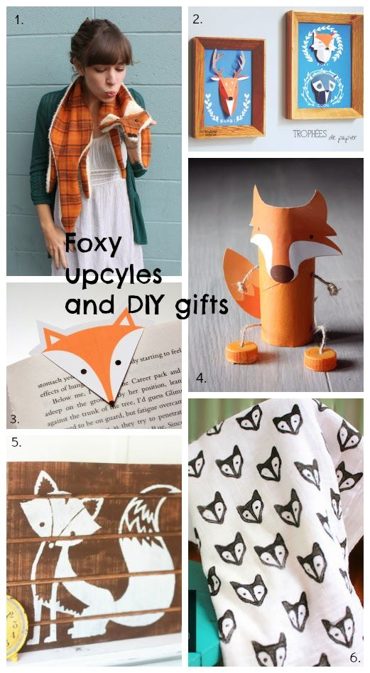Upcycle: Fab foxy gifts