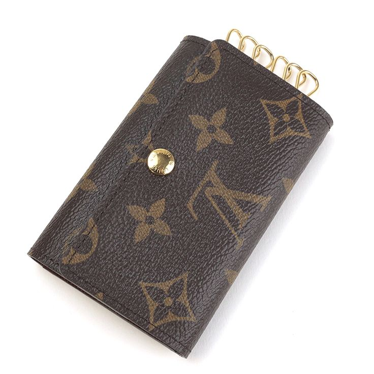 "LOUIS VUITTON M62630 MULTICLES 6 SIX HOOKS KEY CASE MONOGRAM LEATHER[Price]JPY 22,800 *Approximately US $S204.90[Condition]""A pre-owned.The Over all is very good condition."""