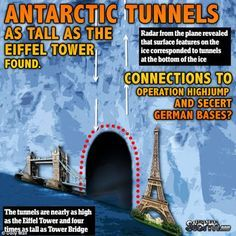 Antarctic Tunnels as Tall as the Eiffel Tower Found | Connections to Operation Highjump and Secret German Bases? | Stillness in the Storm