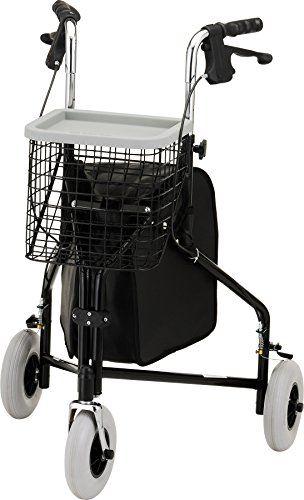 NOVA Medical Products Traveler 3-Wheel Rolling Walker
