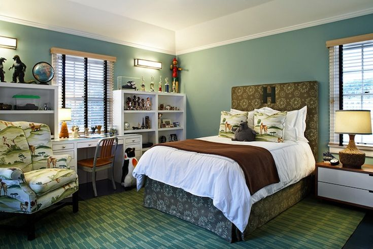 1000+ Ideas About Green Brown Bedrooms On Pinterest