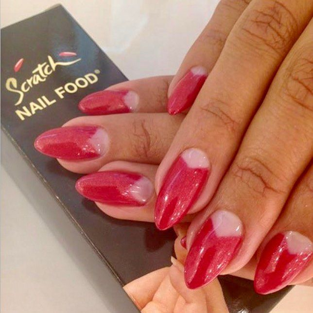 scratch nails nail food