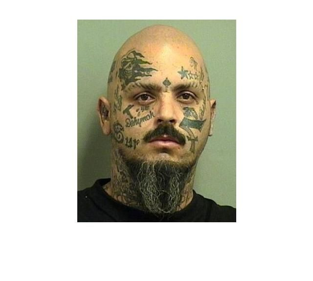 39 Tragically Bad Face Tattoos...I Can't Look Away. (Slide #68) - offbeat