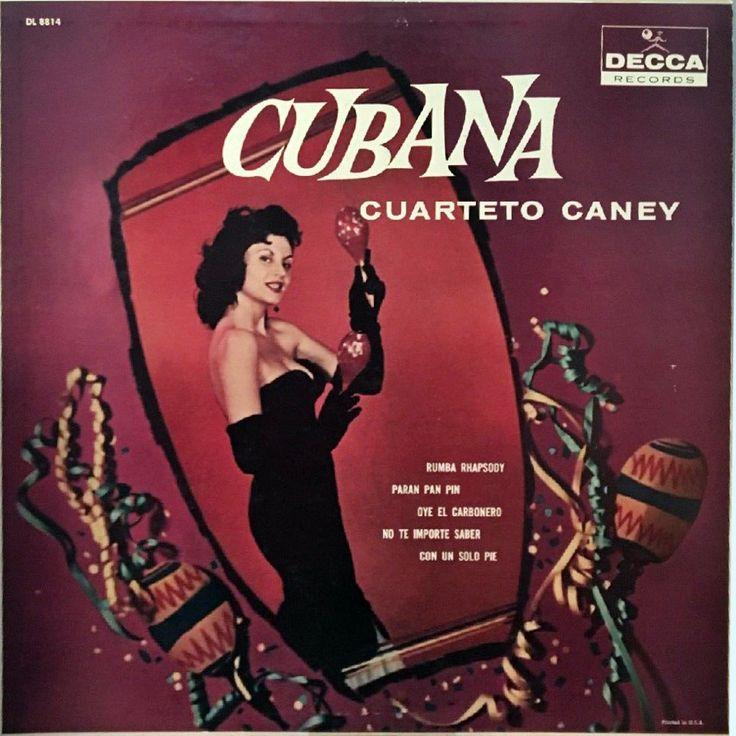 Cuarteto Caney - Cubana (Decca; 1959) #records #vinyl #LP #album