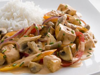 "Tofu and Mushroom Stroganoff"" from Cookstr.com #cookstr"