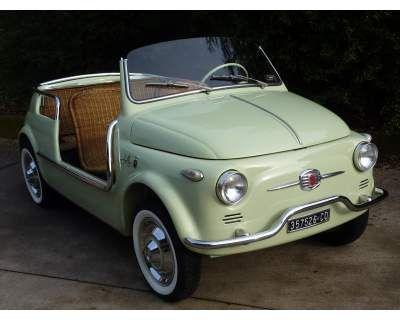 Fiat 500 - Jolly Ghia-d'epoca - It looks like a little wind up car - so, so cute!!