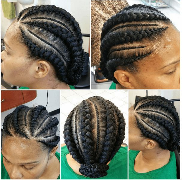 7 Unique Cornrow Styles Natural Hair Styles Braided