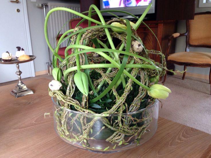 Tulp wilg buxus