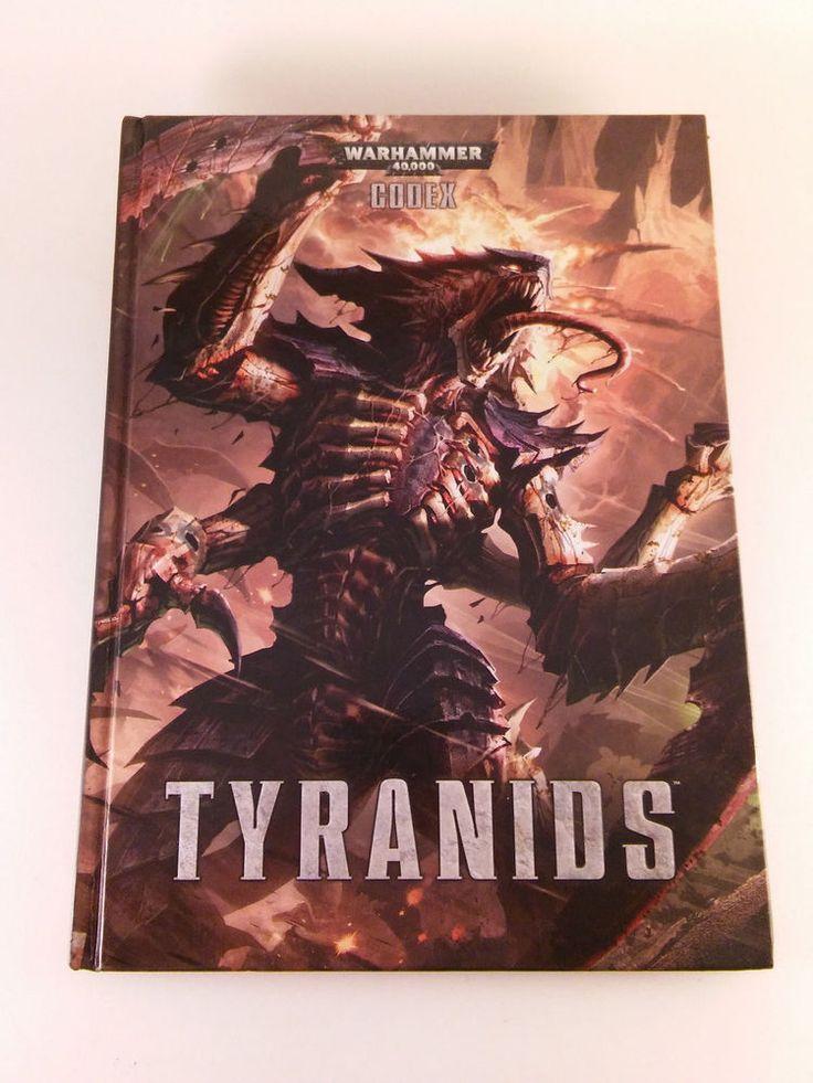 WARHAMMER 40K Tyranid Codex Hardcover HC 2012 Tyranids Rules Rulebook FREE SHIP!