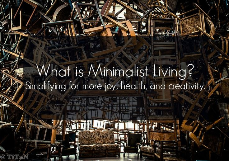 What is minimalist living?