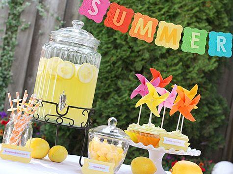 Summer Lemonade party!