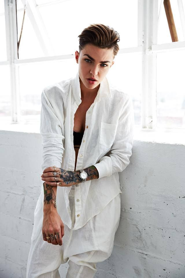 Style blog exclusively for tomboys., Ruby Rose