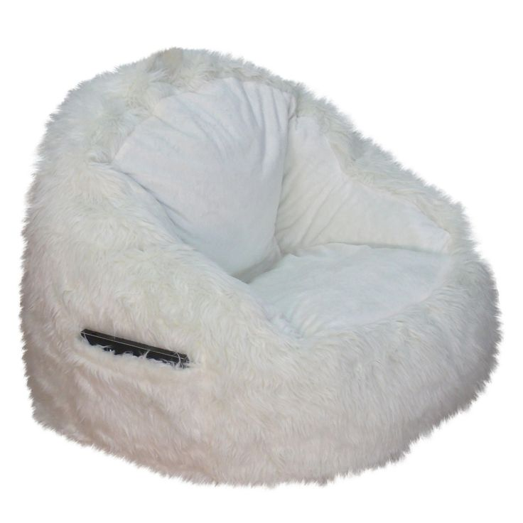 This Structured Tablet Fur Bean Bag the softest seat in the house. Our superior-quality faux fur is as luxurious as it is beautiful. It is a perfect addition to your childrens room or teen study area, equiped with a sewn in side pocket to hold your Tablet or favorite book.