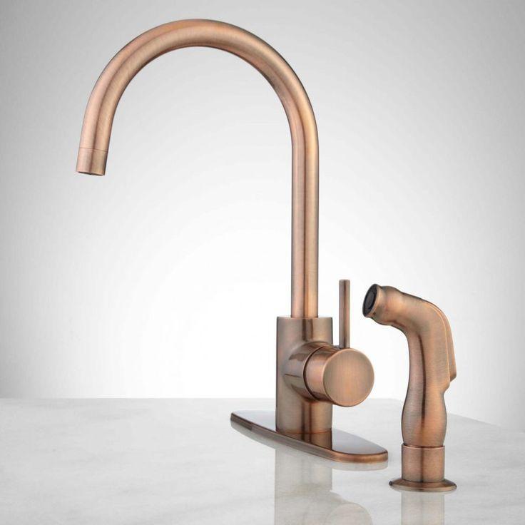 kitchen faucetl wonderful copper kitchen faucets pull out copper kitchen faucets kohler kohler copper - Kitchen Faucet Ideas