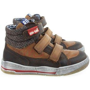 stijlvolle Red Rag jongens hoge schoenen jongens sneakers (Bruin)