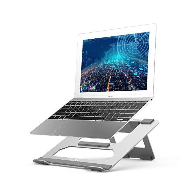 Portable /& Vented Adjustable Laptop Riser Stand