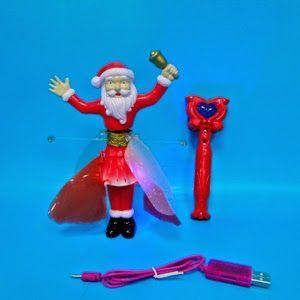 http://dedmoroz.pokupkaage.ru/ С наступающим 2015 годом! Летающий Санта Клаус - волшебство у тебя в руках!  Волшебный летающий «САНТА КЛАУС» с подсветкой и музыкой!Отличный подарок детям и взрослым на Новый год!