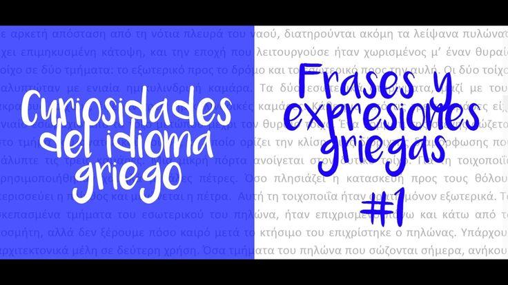 Mi gran aventura griega | Frases y expresiones griegas #1