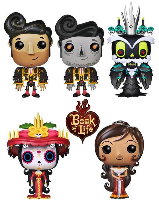 ToyzMag.com » The Book of Life annoncé au format Pop!