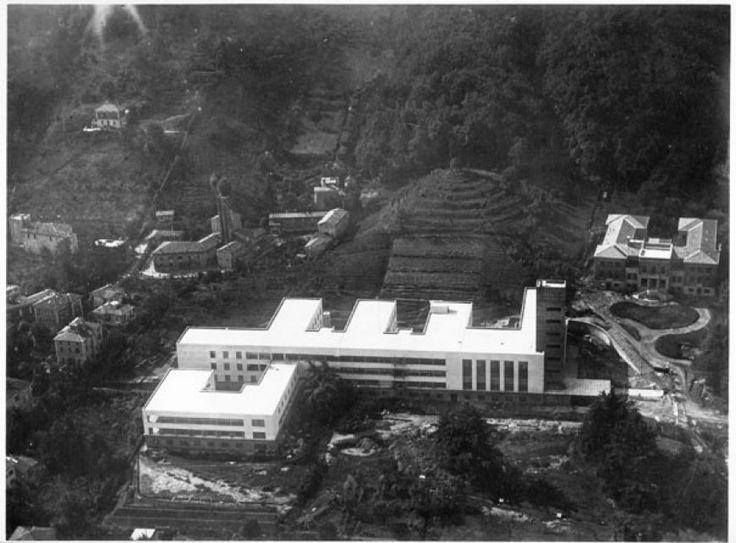 Giuseppe Vaccaro Scuola d'Ingegneria di Bologna, 1931-1935, Veduta dall'alto, 17,6x23,5 cm.