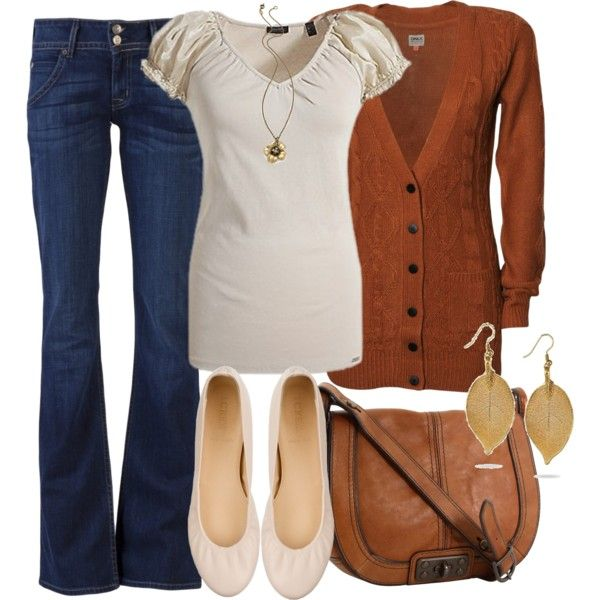 Like the rusty brown color for fall