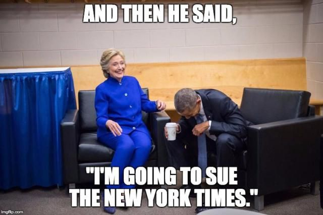 Funniest Memes Reacting to Trump's Groping Scandal: Trump Threatens to Sue New York Times