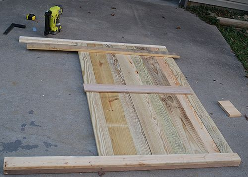 Diy Wood Headboard how to build your own headboard | design this | pinterest