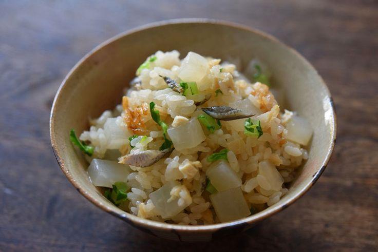 大根めし(炊き込みご飯)のレシピ/作り方 ©白ごはん.com