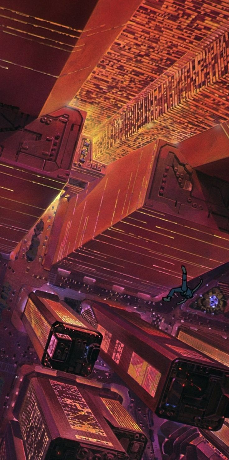 PD - Another shot from Akira, while we're on the dystopia track.