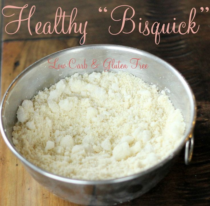 "Low Carb GLUTEN-FREE ""BISQUICK"""