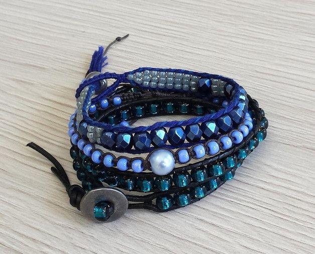 Elegance set sapphire and azure