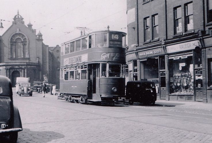 Armley. Branch Road Fare Stage / Armley Road. 1953.